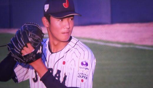 奥川くん(U18W杯)世界相手にすごすぎ7回18奪三振!画像&動画まとめ!可愛いやつも